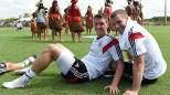 Mesut Ozil ve Lukas Podolski